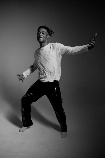 Portrait d'artiste meezekoy studio noir et blanc danseur danse photographie
